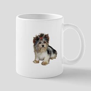 Biewer Yorkie 2 11 oz Ceramic Mug