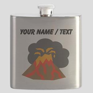 Custom Erupting Volcano Flask