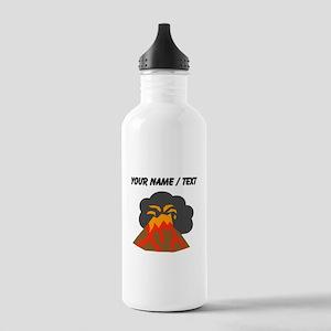 Custom Erupting Volcano Water Bottle