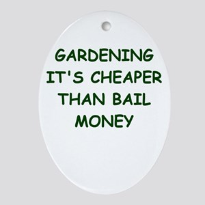 gardening Ornament (Oval)