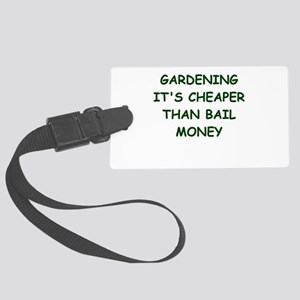 gardening Luggage Tag