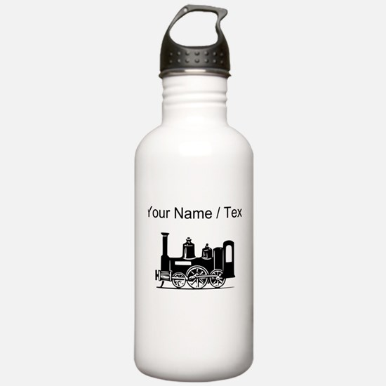 Custom Locomotive Water Bottle