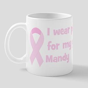 Grandmother Mandy (wear pink) Mug