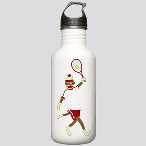 Sock Monkey Tennis Stainless Water Bottle 1.0L