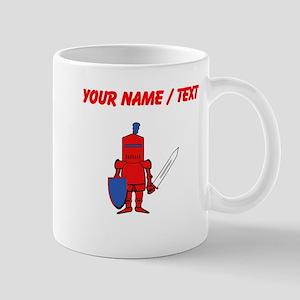 Custom Red Knight Mugs