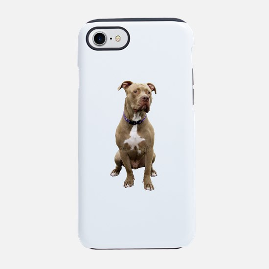 Pit Bull #1 (bw) iPhone 7 Tough Case