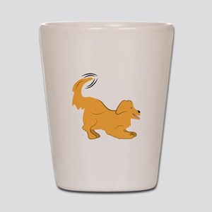 Golden Retriever Shot Glass