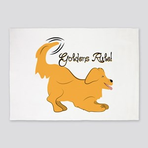 Goldens Rule! 5'x7'Area Rug