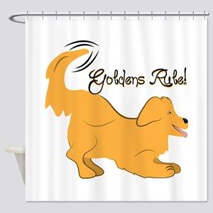 Goldens Rule! Shower Curtain