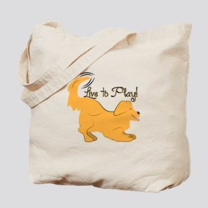 Live To Play! Tote Bag