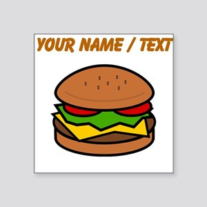 Custom Hamburger Sticker