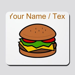 Custom Hamburger Mousepad
