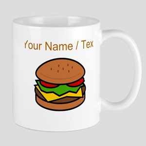 Custom Hamburger Mugs