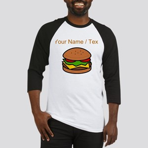 Custom Hamburger Baseball Jersey