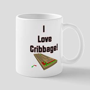 I Love Cribbage Large Mugs