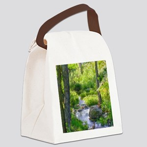 Down by the Creek Canvas Lunch Bag
