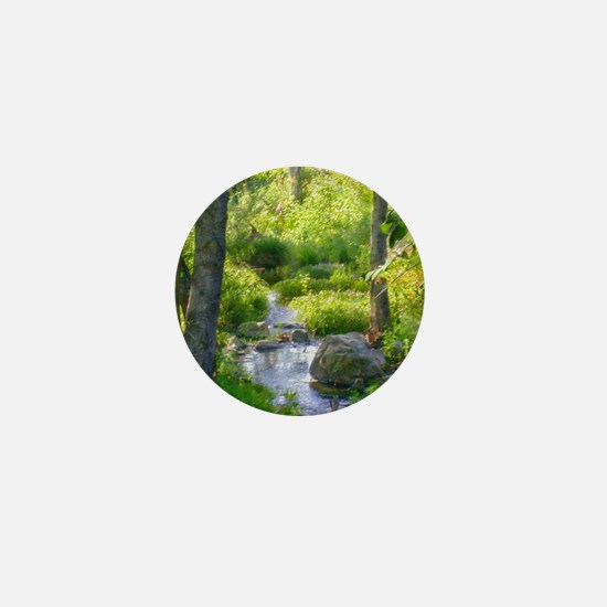 Down by the Creek Mini Button