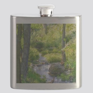 Down by the Creek Flask