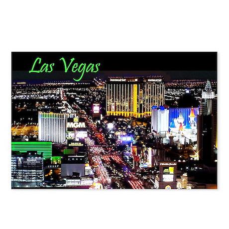 Las Vegas Strip Postcards (Package of 8)