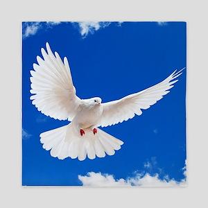 Purity Dove Queen Duvet