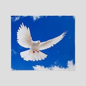 Purity Dove Throw Blanket