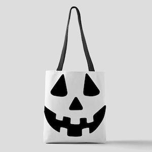 Jack OLantern Polyester Tote Bag