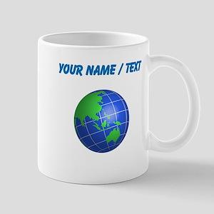 Custom Oceana Globe Mugs