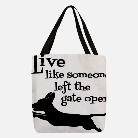 OPEN GATE! Polyester Tote Bag