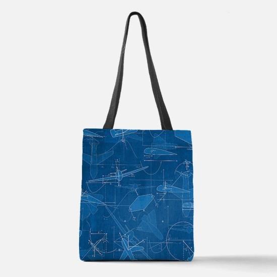 Aerodynamics Polyester Tote Bag