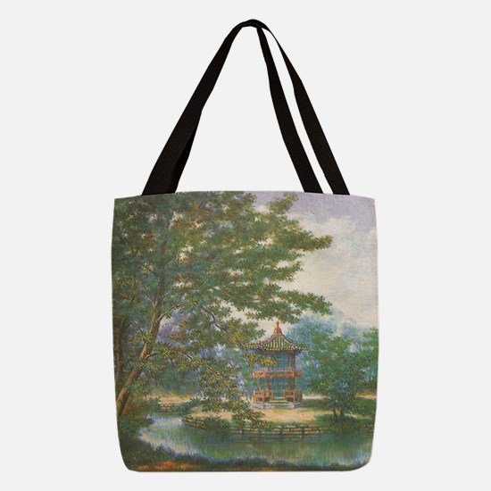 tranquilpagoda Polyester Tote Bag