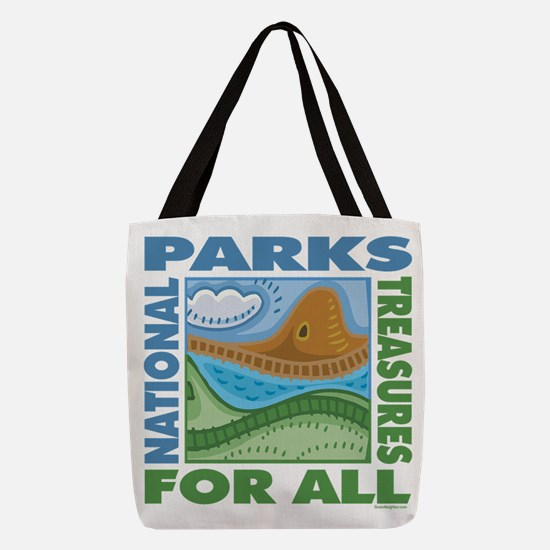 sq_ntlparks2 Polyester Tote Bag