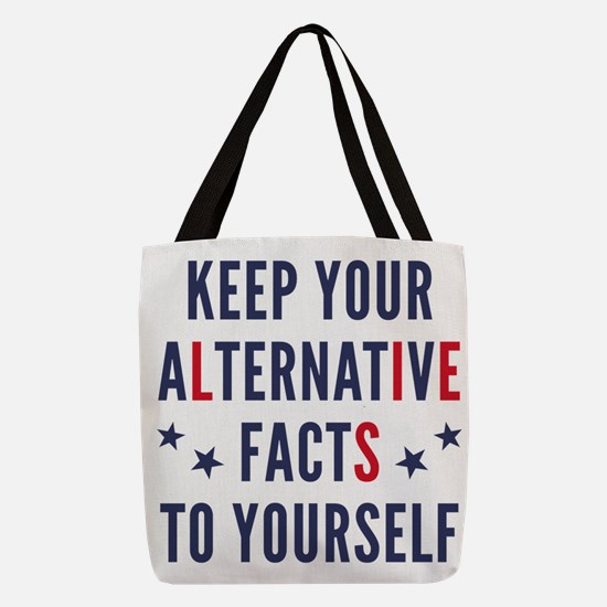 Alternative Facts Polyester Tote Bag