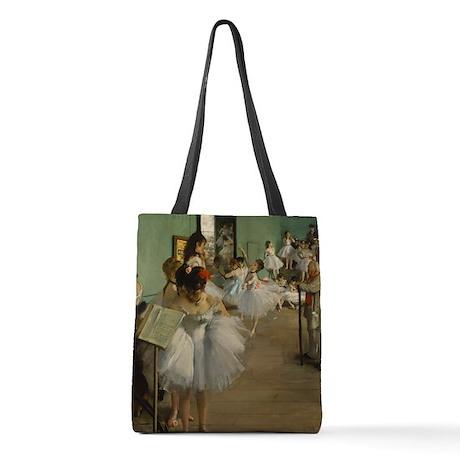 Degas Dance Class Ballet Dancer Polyester Tote Bag