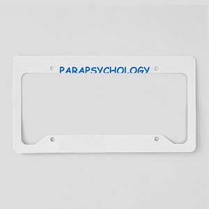 parapsychology License Plate Holder