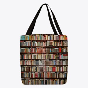 Books!  Polyester Tote Bag