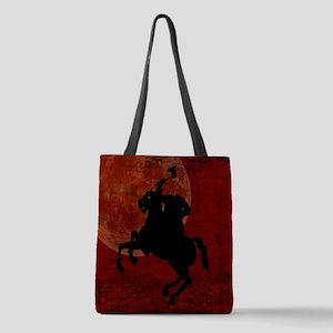Headless Horseman Polyester Tote Bag