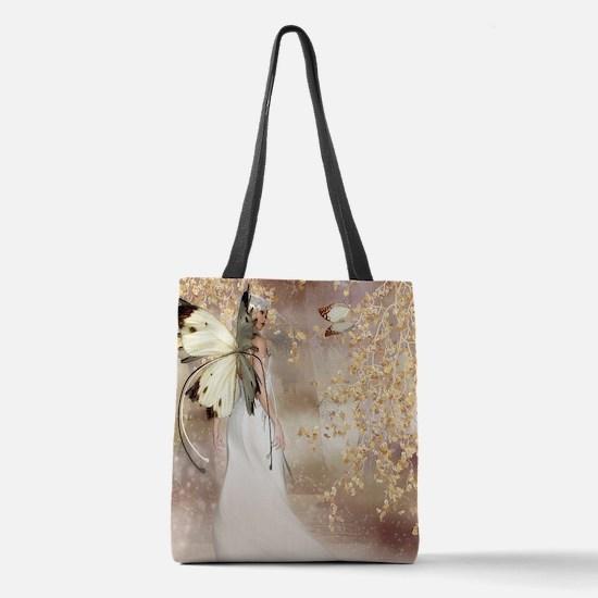 Fantasy Fairy Imbolc Spirit Of  Polyester Tote Bag
