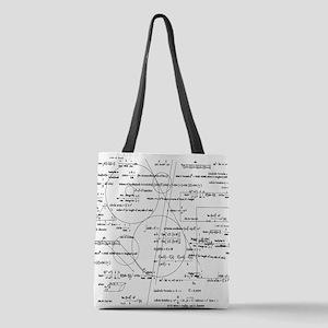 math bits Polyester Tote Bag