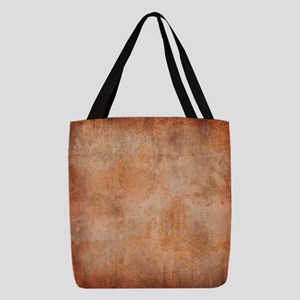 Brown Watercolor Polyester Tote Bag