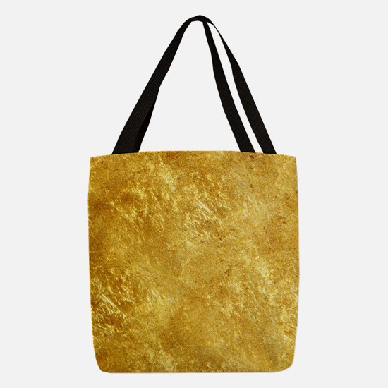 GOLD Polyester Tote Bag