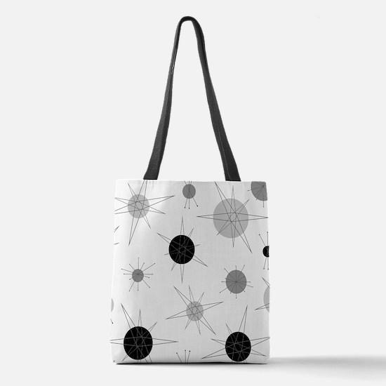 Unique Retro Polyester Tote Bag
