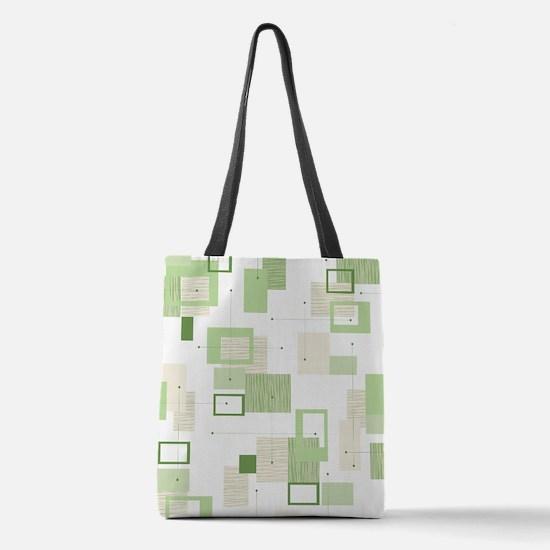 Unique 50s Polyester Tote Bag