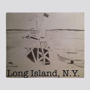 Long Island, N.Y. Throw Blanket