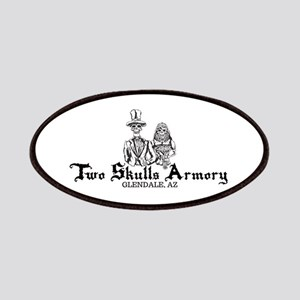 Two Skulls Logo Patch