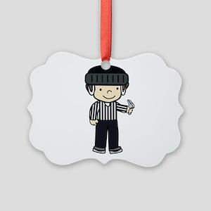 Hockey Girls Ornament