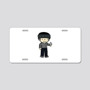 Hockey Girls Aluminum License Plate