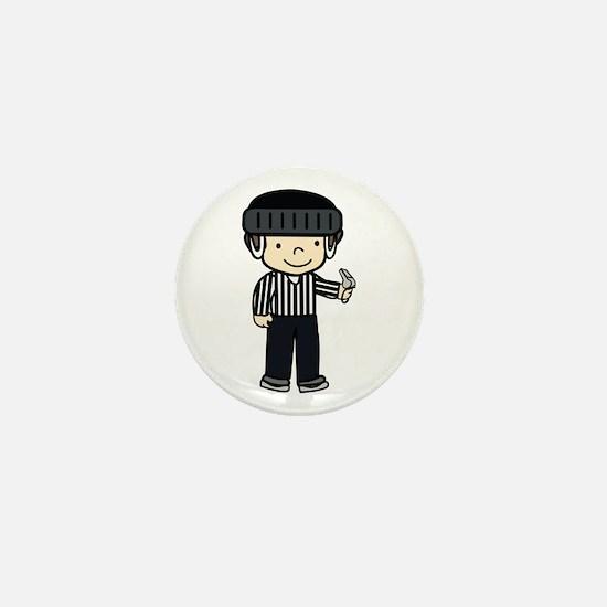 Hockey Girls Mini Button