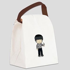 Hockey Girls Canvas Lunch Bag
