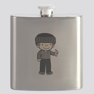 Hockey Girls Flask