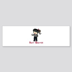 Fight Buster Bumper Sticker